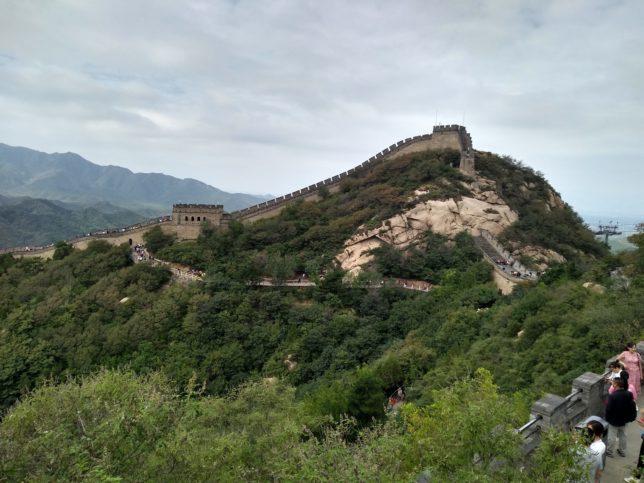 万里の長城に行ってきました